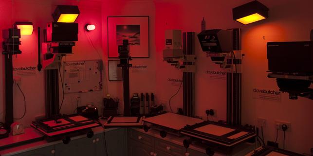 Dave Butcher Darkroom at Briarwood Tunstead Milton