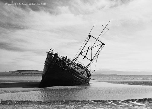 Ettrick Bay Wreck, Bute, Scotland
