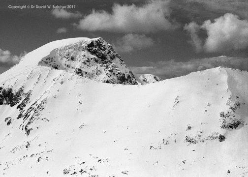 Ben Nevis from Aonach Beag, Fort William, Scotland