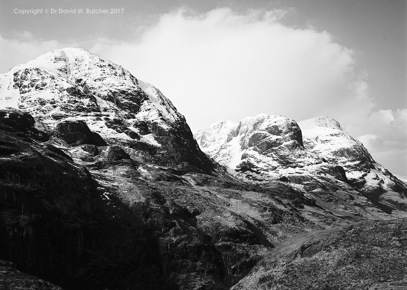 Three Sisters of Glen Coe, Scotland