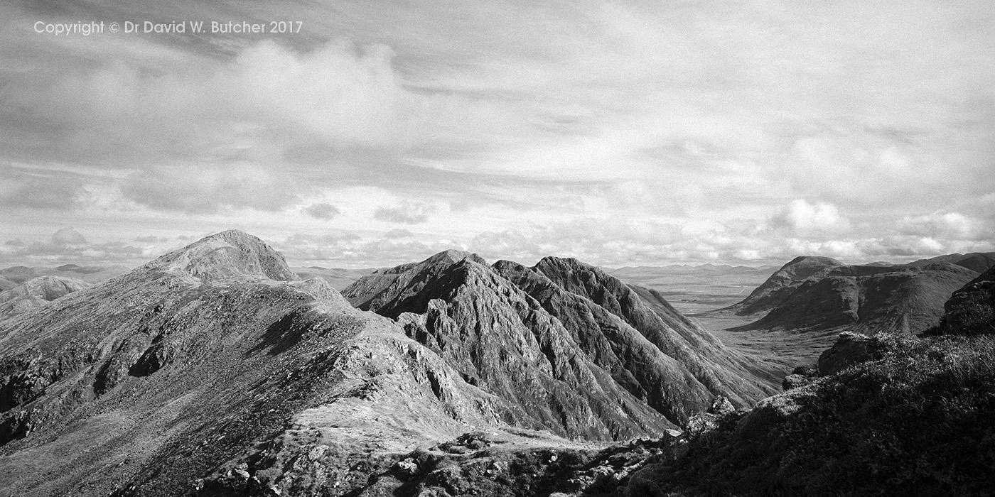 Glen Coe Aonach Eagach Ridge, Scotland