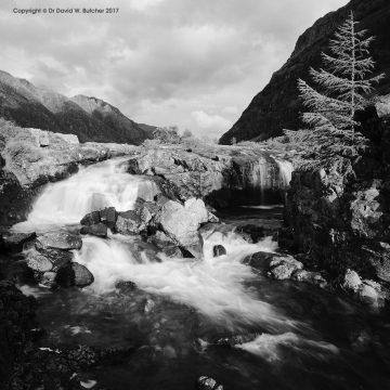Lower Glen Coe Waterfalls, Scotland
