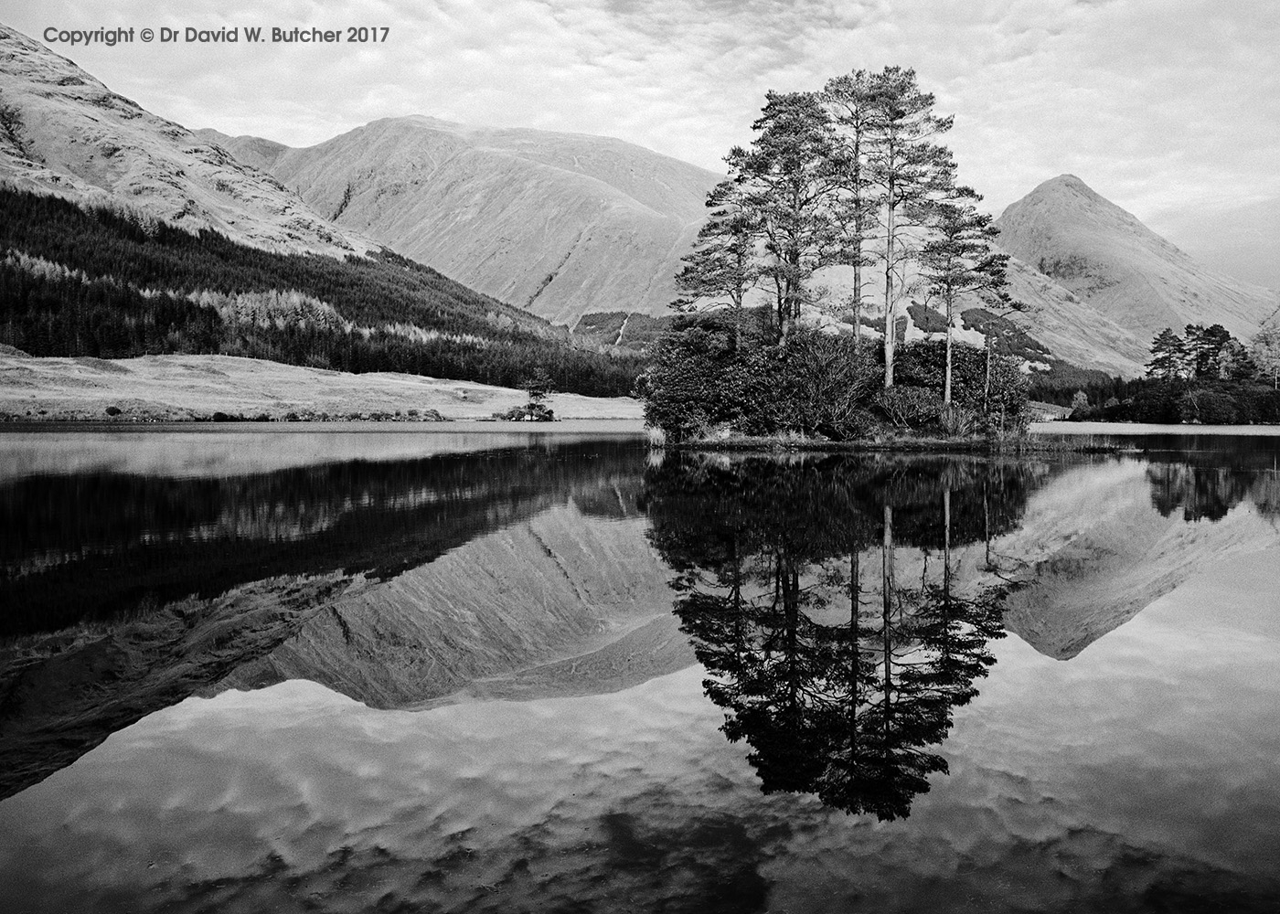 Lochan Urr Reflections, Glen Etive, Scotland