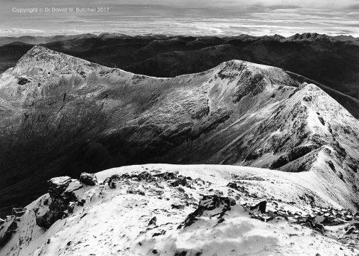 Devils Ridge, Mamores, Fort William, Scotland