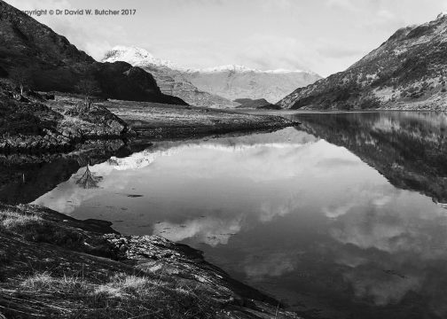 Loch Hourn Reflections, Knoydart, Scotland