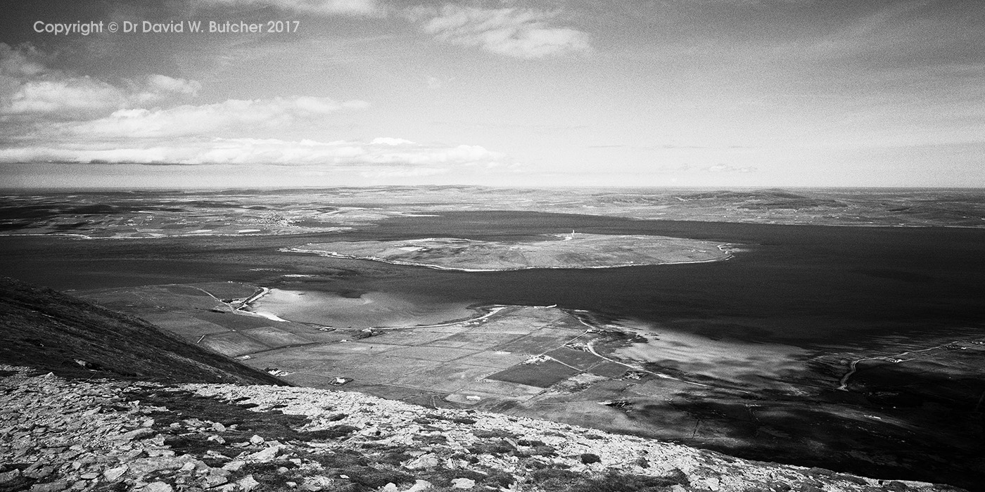 Ward Hill View Towards Stromness, Hoy, Orkney, Scotland