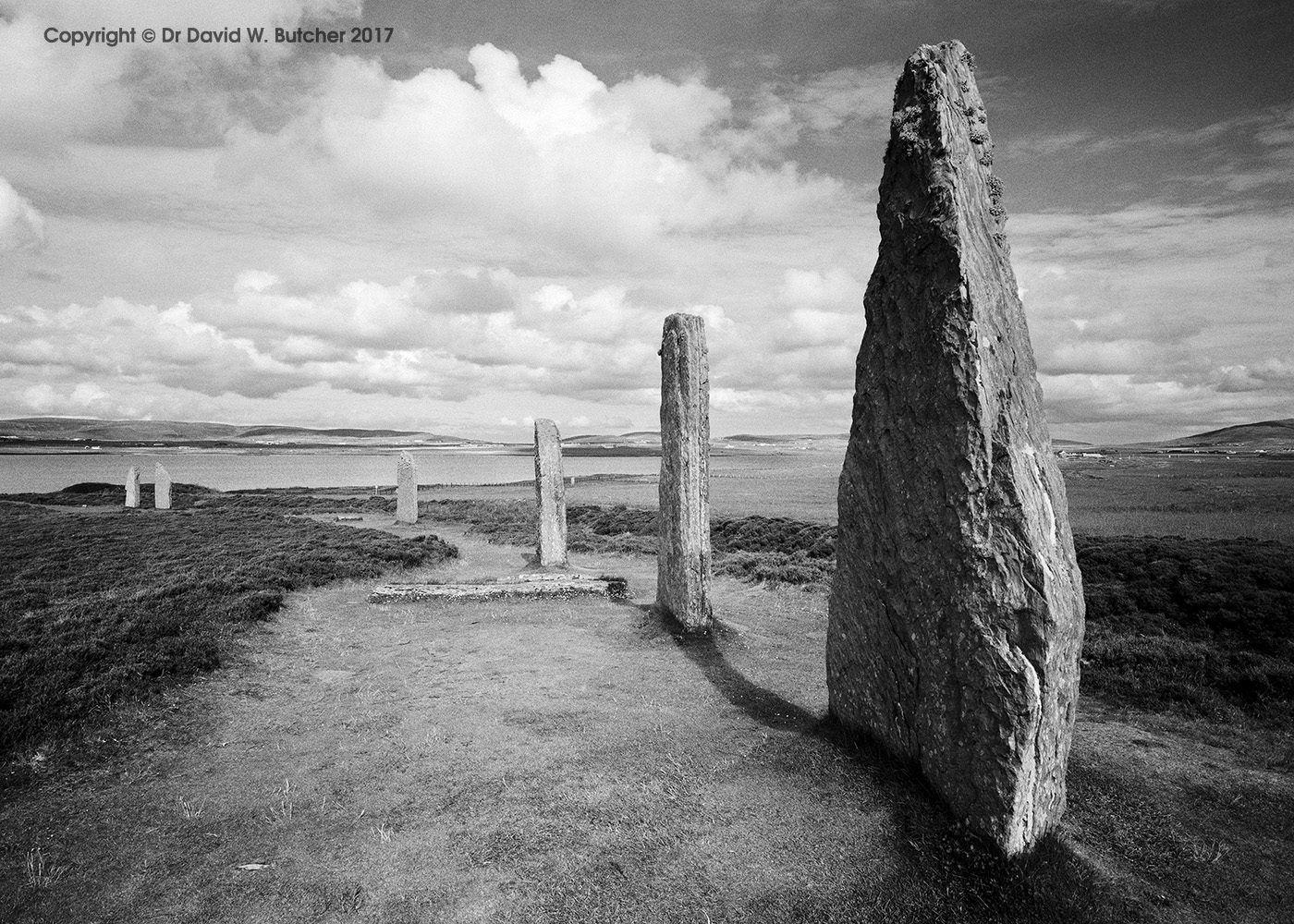 Ring of Brodgar Stones, Orkney, Scotland