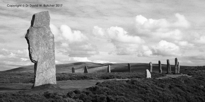 Ring of Brodgar Panorama, Orkney, Scotland