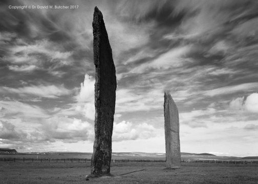 Orkney Stones of Stenness Skyscape, Scotland