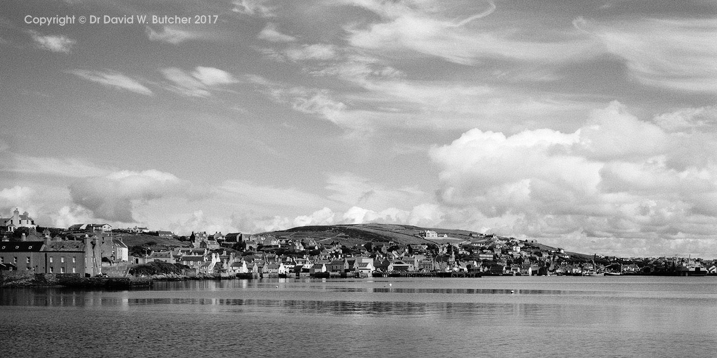 Stromness Panorama, Orkney, Scotland
