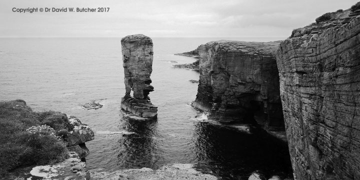 Orkney Yesnaby Castle Sea Stack, Scotland