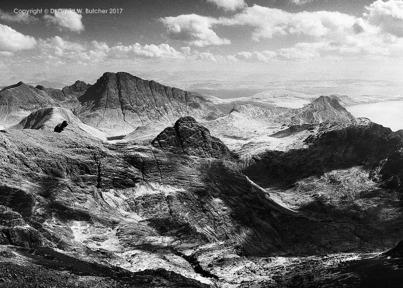Lota Corrie, Black Cuillin, Skye, Scotland
