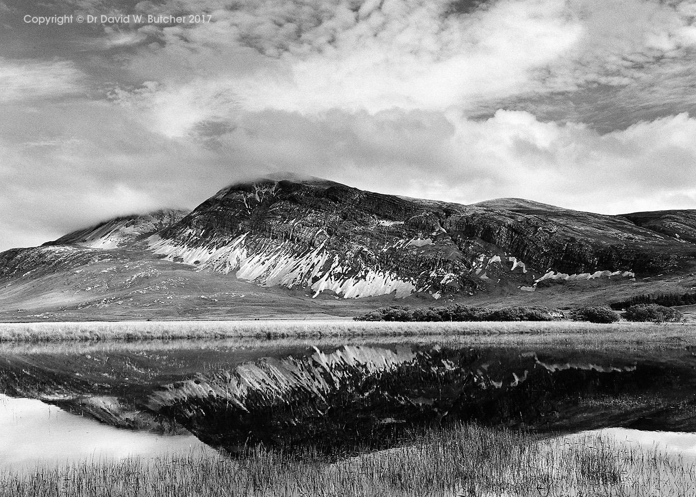 Arkle reflections, Sutherland, Scotland