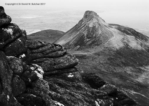 Stac Pollaidh from Cul Beag, Scotland