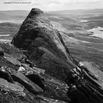 Suilven Ridge, Sutherland, Scotland