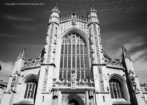 Bath Cathedral Front