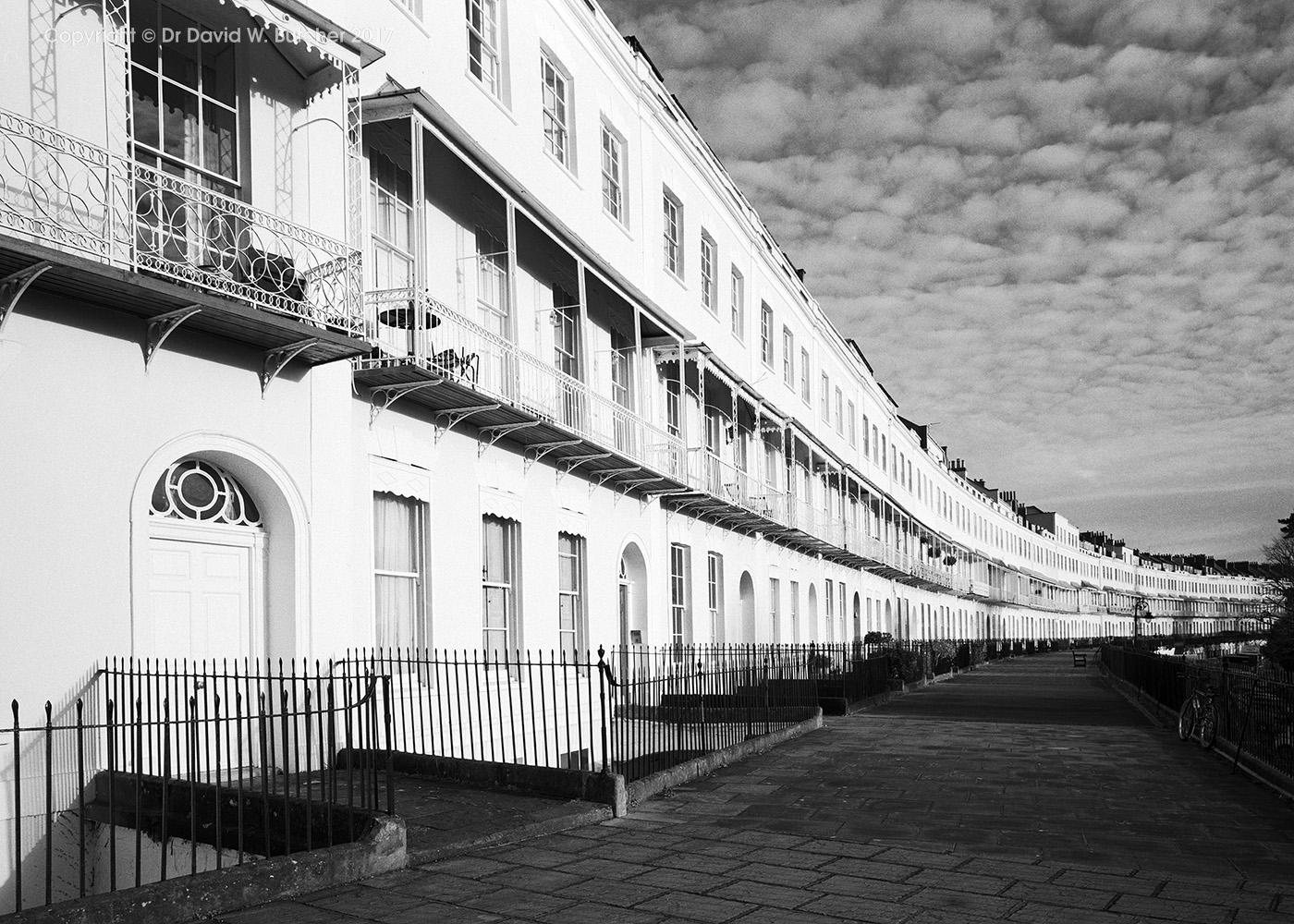 Bristol Clifton Royal York Crescent, England