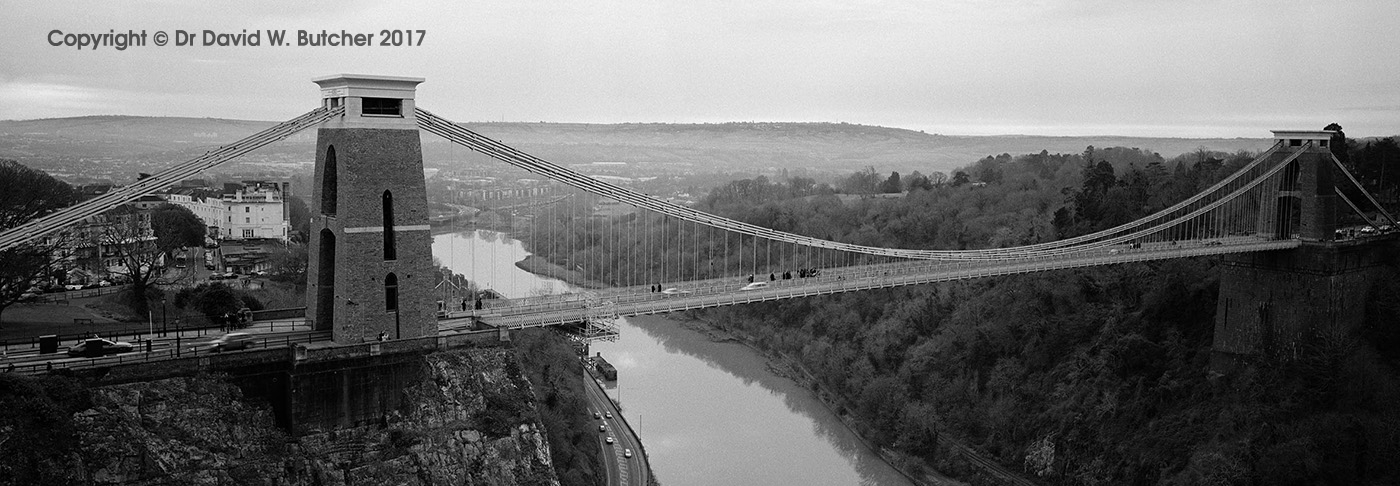 Bristol Clifton Suspension Bridge, England