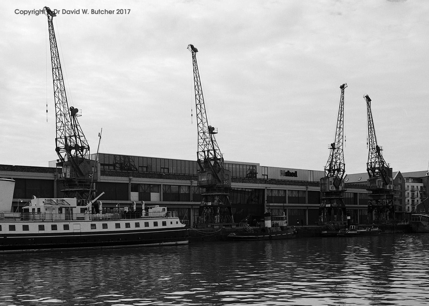 Bristol M Shed Cranes, England
