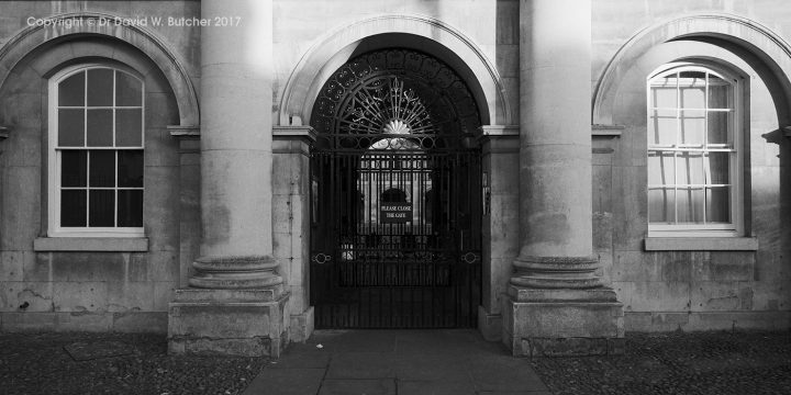 Cambridge Emmanuel College Entrance, England