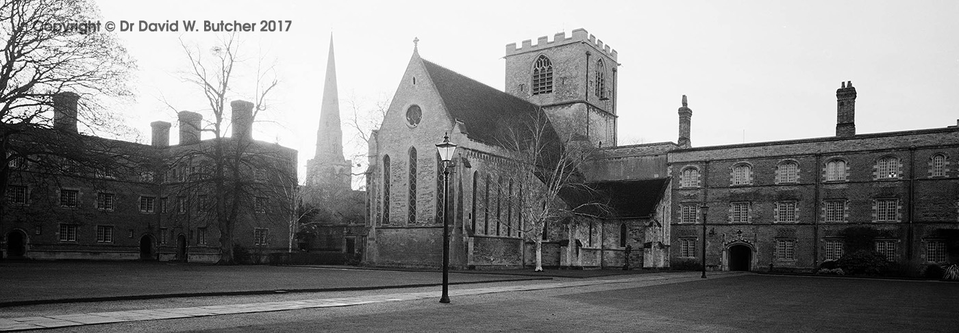 Cambridge Jesus College Chapel Court, England