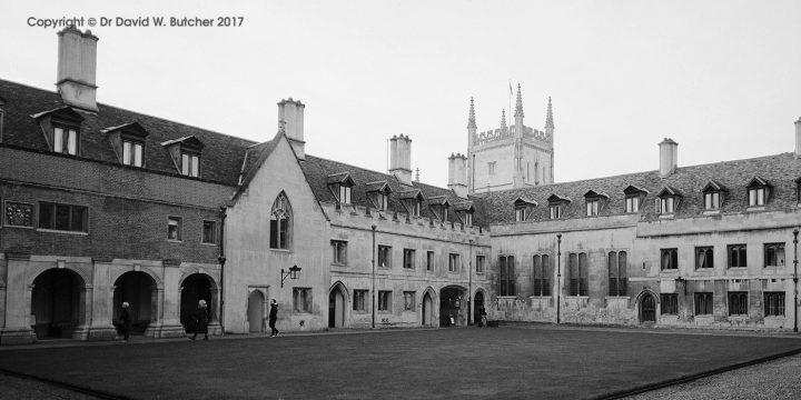 Cambridge Pembroke College Old Court, England