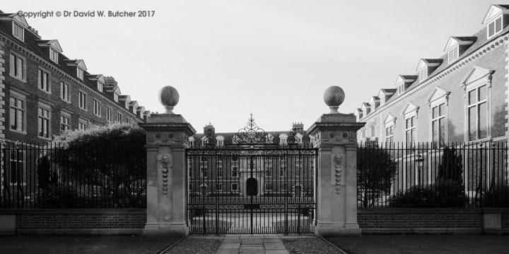 Cambridge St Catharine's College Gates, England