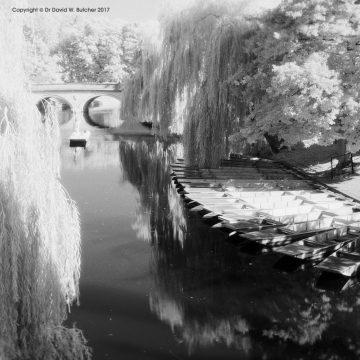 Cambridge Backs and Trinity Bridge, England