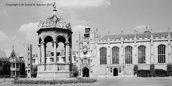 Trinity College Great Court, Cambridge, England