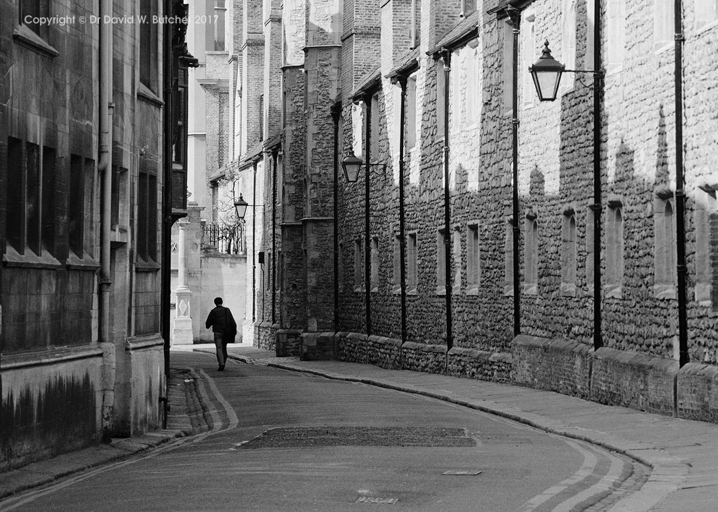 Trinity Lane Cambridge, England