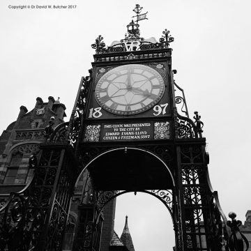 Chester Eastgate Clock, Cheshire, England
