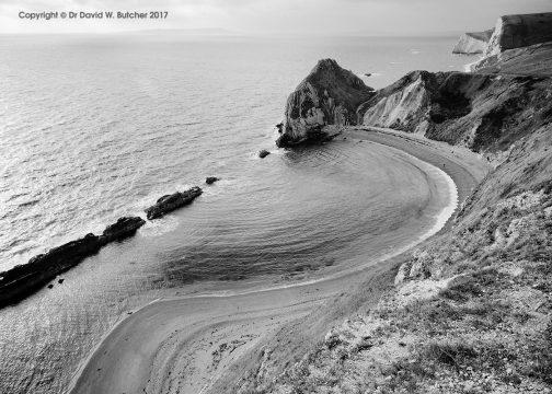 Durdle Door Coast, Dorset, England