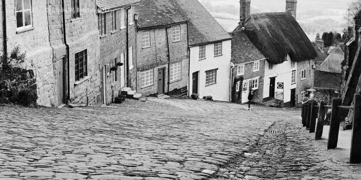 Shaftesbury Gold Hill, Dorset, England