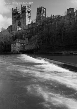 Durham Cathedral and River Wear, England