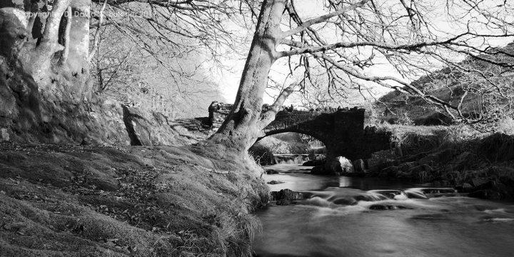 Exmoor Robbers Bridge near Lynmouth, England