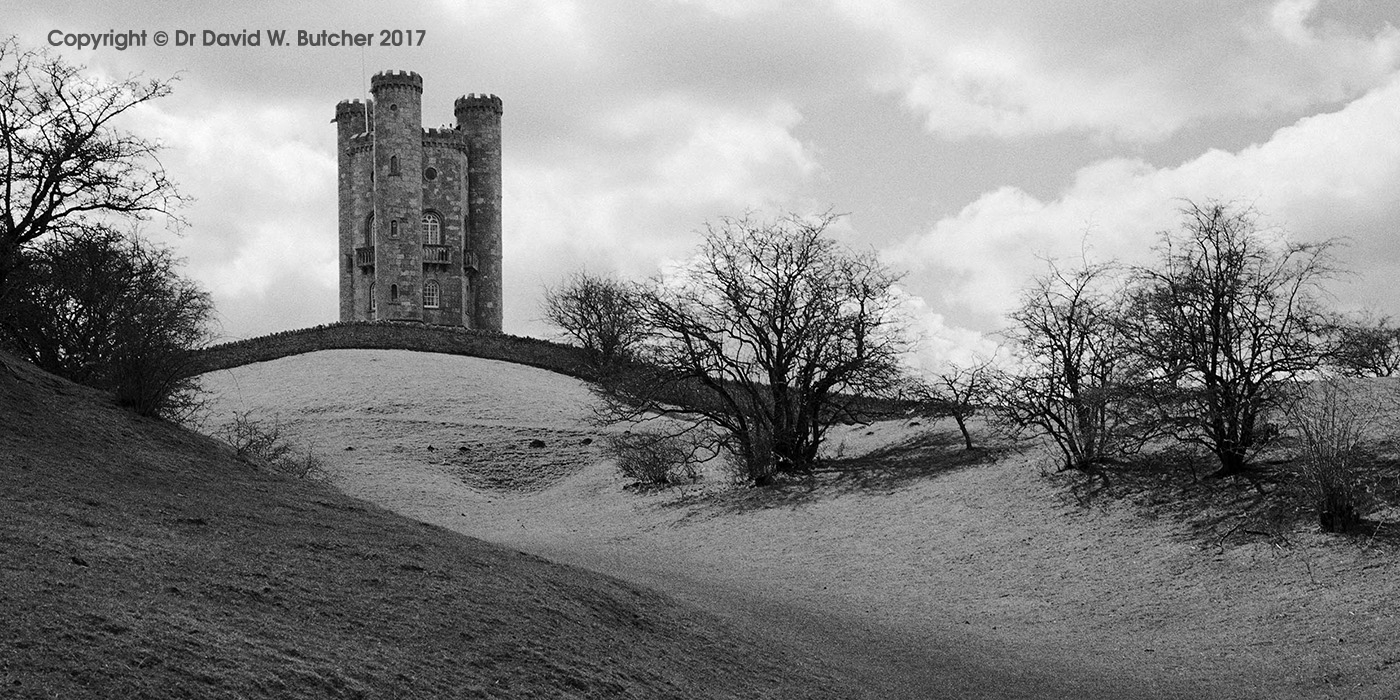 Broadway Tower Approach, Cotswolds, England