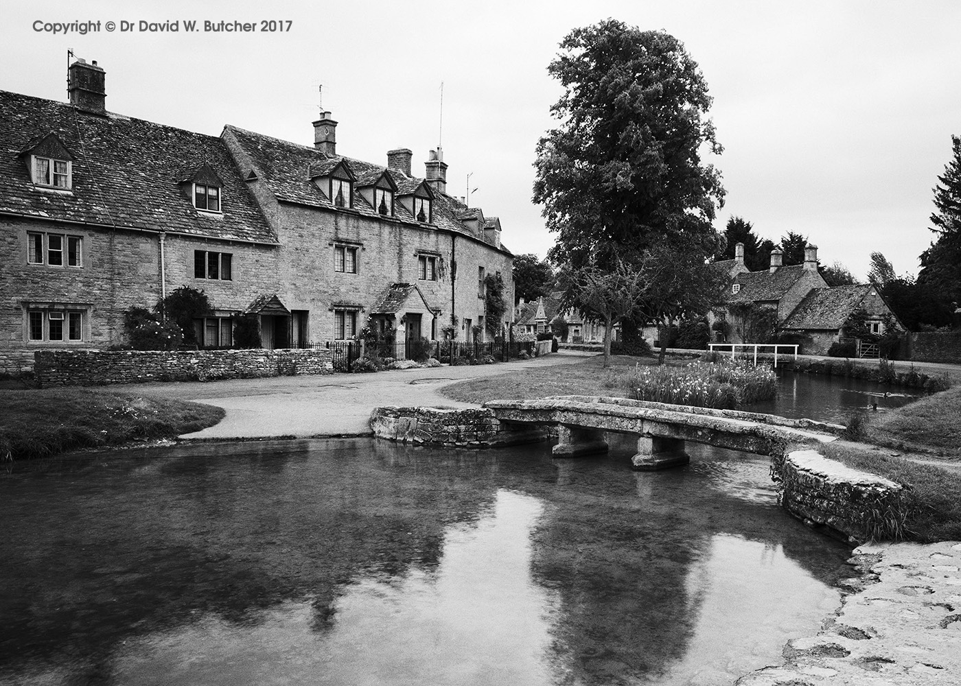 Lower Slaughter and River Eye, Cotswolds, England