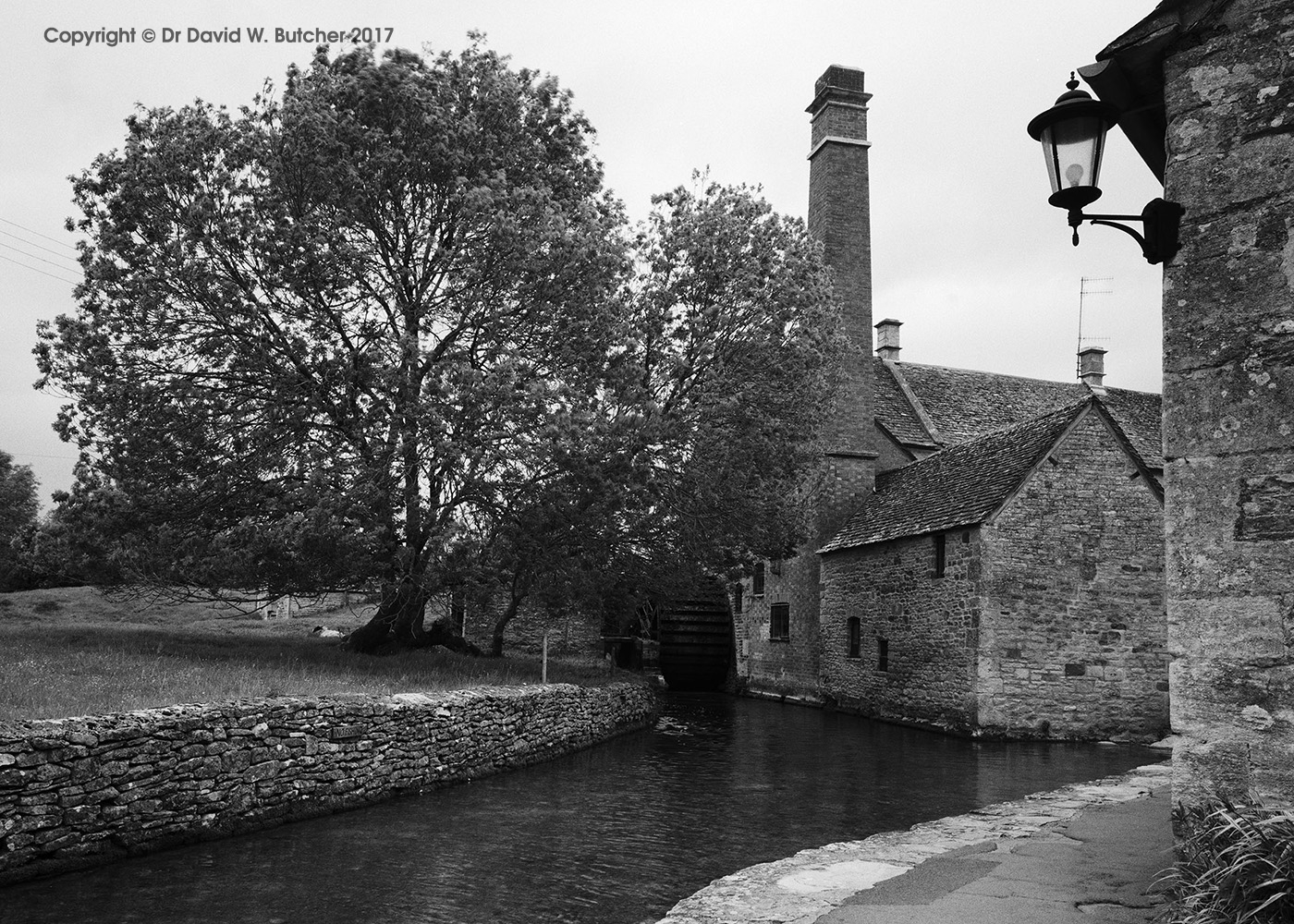 Lower Slaughter Water Mill, Cotswolds, England