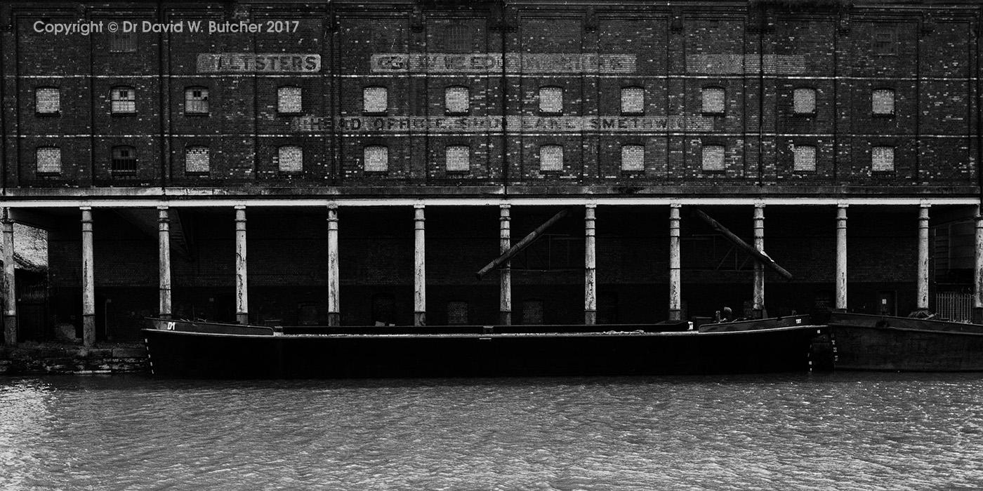 Old Warehouse Gloucester Docks, England