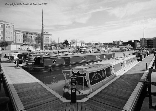 Gloucester Docks Marina, England