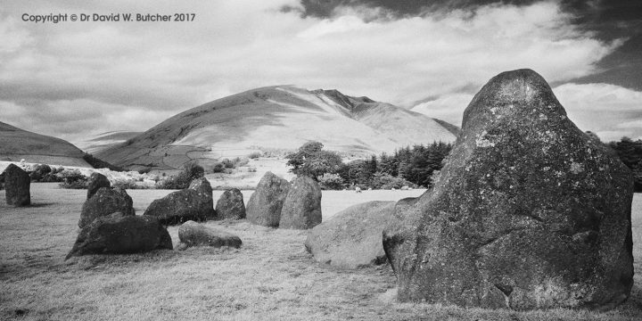 Blencathra from Castlerigg Stone Circle, Keswick, Lake District