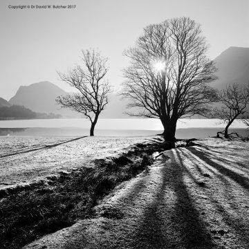 Winter Sun Buttermere, Lake District
