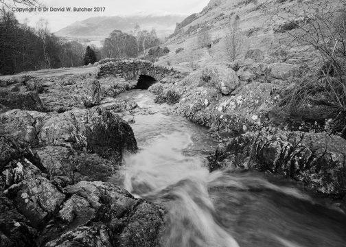 Ashness Bridge, Borrowdale near Keswick, Lake District