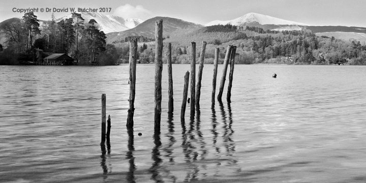 Causey Pike and Grisedale Pike from Derwent Water, Keswick, Lake District