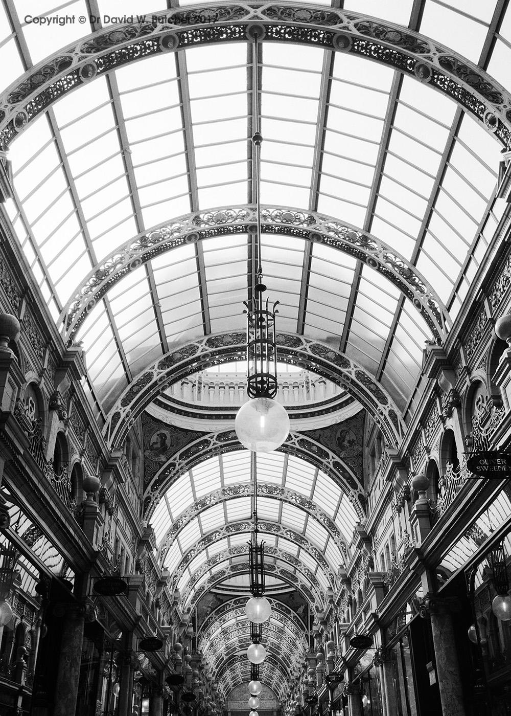 County Arcade Roof, Leeds, England