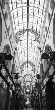 Thorntons Arcade Roof in Leeds, England