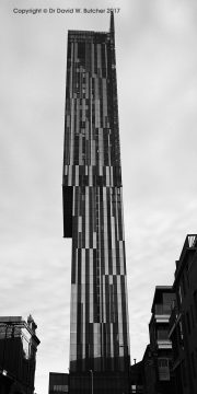 Manchester Beetham Tower Panorama, England