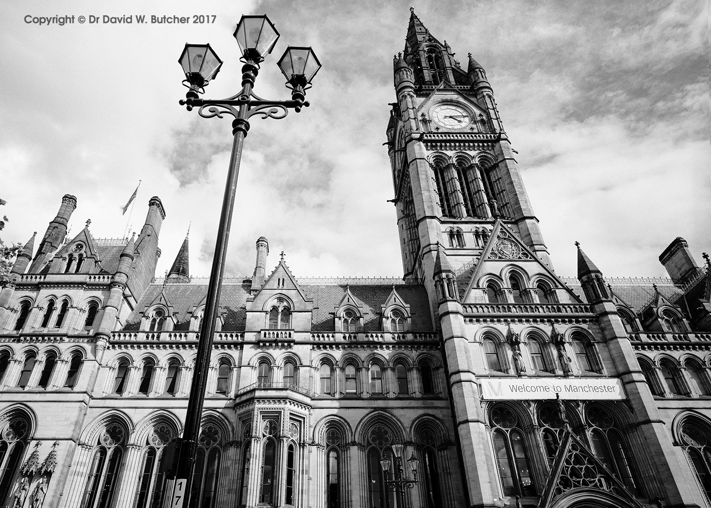 Manchester Town Hall, England