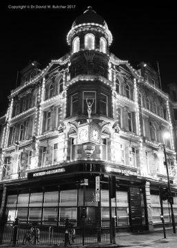 Newcastle Northern Goldsmiths at Night