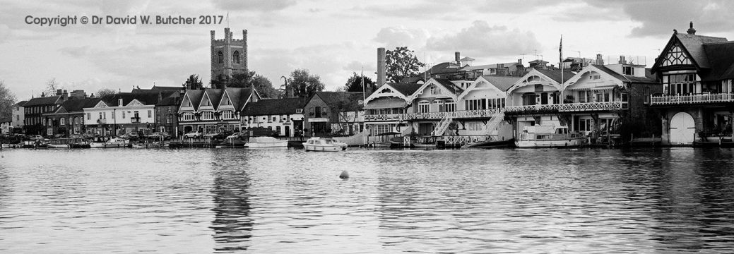 River Thames at Henley on Thames, England